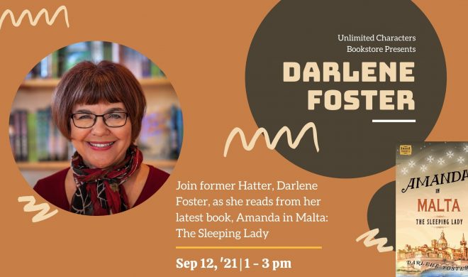 Darlene Foster Reads at Unlimited Characters Bookstore
