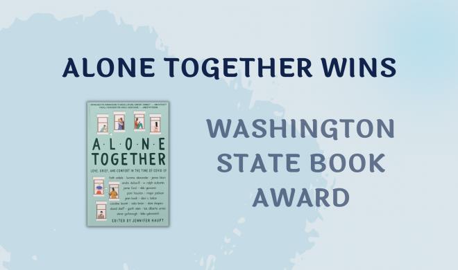 Alone Together Wins Washington State Book Award